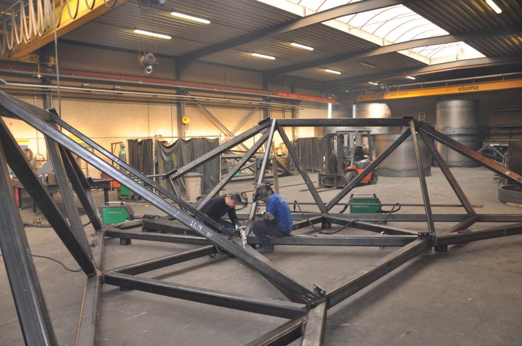 Uitbreiding met extra atelier in Heule